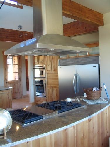 Monogram island hood and pro range installation